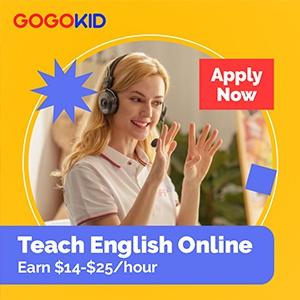 Online ESL Teacher for GOGOKID