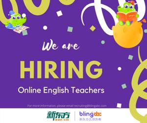 Online English Teacher (K-12)