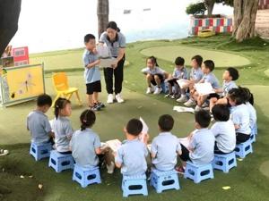 non native teachers needed in Foshan kindergarten